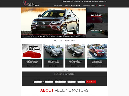 Redline Motors Price